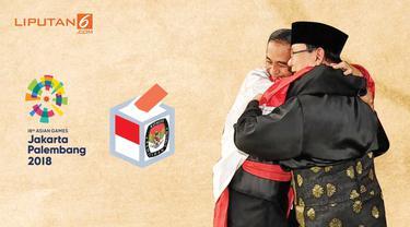 Pelukan Jokowi Prabowo Oasis Jelang Pilpres 2019 News Sulawesita Com