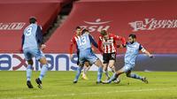 FC Utrecht menelan kekalahan 1-2 dari PSV Eindhoven pada laga pekan ke-12 Eredivisi Belanda, Minggu (13/12/2020) malam WIB. (AFP/MAURICE VAN STEEN/ANP)