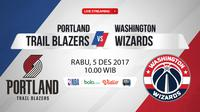 Portland Trail Blazers Vs Washington Wizards_4 (Bola.com/Adreanus Titus)