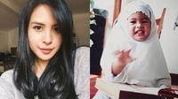 6 Foto Masa Kecil Maudy Ayunda, Imut dan Menggemaskan (sumber: Instagram.com/maudyayunda dan Instagram.com/muren.s)