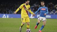 Napoli vs Barcelona. (AP Photo/Andrew Medichini)