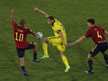Spanyol Ditahan Swedia 0-0
