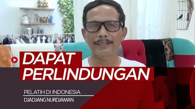 Berita video wawancara Djadjang Nurdjaman pasca dipecat dari jabatan sebagai pelatih Persebaya Surabaya. Salah satu keinginannya yaitu pelatih di Indonesia dapat perlindungan dan punya wadah.