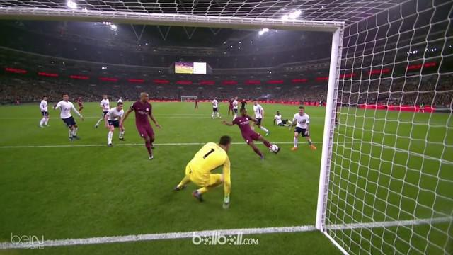 Manchester City eraih kemenangan atas Tottenham Hotspur dengan skor 3-1. This video is presented by Ballball.