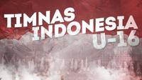 Timnas Indonesia U-16. (Bola.com/Dody Iryawan)
