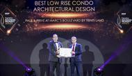 Pemberian penghargaan dari PropertyGuru's Indonesia Property Awards untuk Triniti Land, Paul & Prive di Marc's Boulevard
