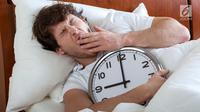 Ilustrasi Foto Susah Tidur atau Sulit Tidur (iStockphoto)