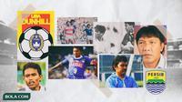 Kolase - Persib Bandung saat juara Ligina I tahun 1994 (Bola.com/Adreanus Titus)