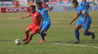 Persiraja Banda Aceh berhasil membawa pulang satu poin saat menghadapi Persis Solo dalam laga lanjutan Liga 2 Grup Barat. (Bola.com/Ronald Seger Prabowo)