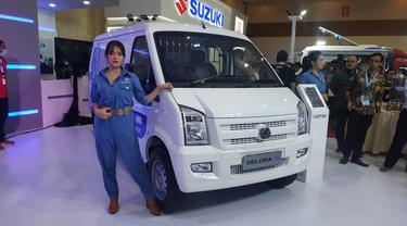 DFSK Berharap Bisa Jual Gelora Listrik Sebagai 'Mobil Rakyat' (Arief A/Liputan6.com)