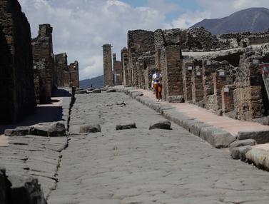 Reruntuhan Pompeii Dibuka Kembali Untuk Umum
