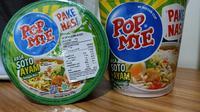 Pop Mie luncurkan varian pakai nasi. (Liputan6.com/Dinny Mutiah)