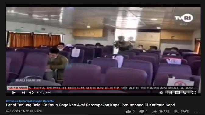 Gambar Tangkapan Layar Video dari Channel YouTube Video Informasi Tv
