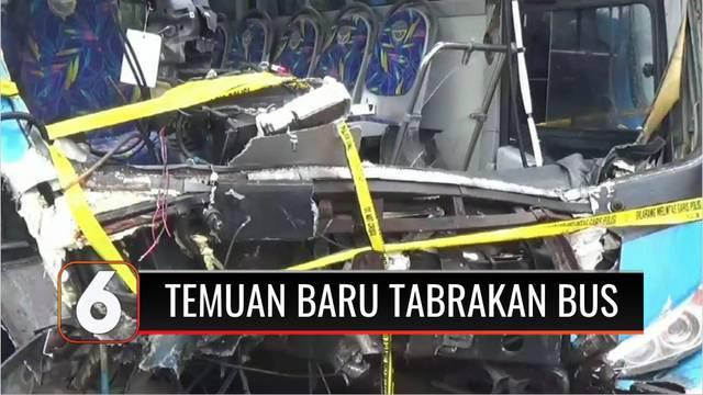 Ditlantas Polda Metro Jaya tidak menemukan adanya upaya pengereman dari bus Transjakarta yang menabrak bus Transjakarta lain dalam kecelakaan di Jalan MT Haryono, Jakarta Timur. Sementara itu kondisi bus saat kejadian dipastikan dalam keadaan layak j...