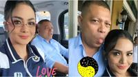 Kemesraan Krisdayanti dan Raul Lemos yang tepis kabar perceraian (Sumber: Instagram/krisdayantilemos)