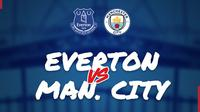 Piala FA: Everton vs Manchester City. (Bola.com/Dody Iryawan)