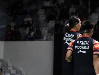 Hafiz / Gloria Tersingkir dari Indonesia Master 2020