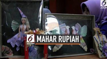 Bank Indonesia mengingatkan masyarakat untuk tidak menggunakan uang Rupiah asli sebagai mahar.