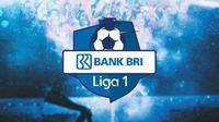 Liga 1 - Ilustrasi Logo Liga 1 tulisan BRI (Bola.com/Adreanus Titus)