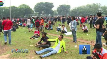 Pertandingan hari ini sangat ditunggu tunggu parar suporter. Pasalnya, kali ini adalah pertandingan penentuan juara kompetisi Liga 1 2018, dimana Persija Jakarta terakhir memperoleh juara Liga Indonesia pada tahun 2001.