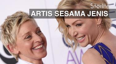 Beberapa artis Hollywood ini memilih menikah dengan pasangan sesama jenis. Siapa saja mereka? Saksikan hanya d Starlite!
