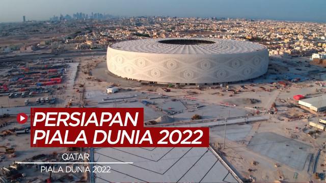 Berita video, kemajuan pembangunan piala dunia 2022 di Qatar