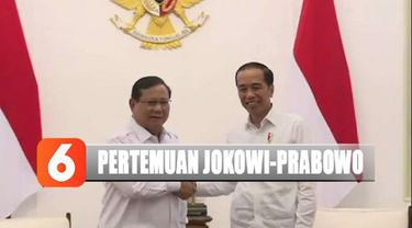 Ini merupakan pertemuan kedua mereka pasca pemilu. Prabowo Subianto tiba di istana sekitar pukul 15.00 WIB.