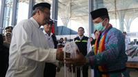 Jemaah haji Indonesia mulai dipulangkan ke Tanah Air. (www.dream.co.id)