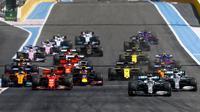 Lewis Hamilton menjadi juara di sirkuit Paul Ricard pada seri kedelapan F1 2019. (dok. F1)