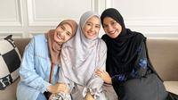 Laudya Cynthia Bella, Zaskia Sungkar dan Shireen Sungkar (Sumber: Instagram/laudyacyntihabella)