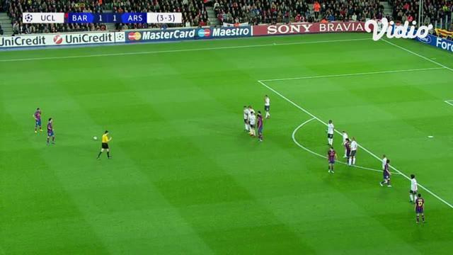 Berita video flashback highlights laga leg II perempat final Liga Champions 2009-2010, di mana Nicklas Bendtner mencetak gol untuk Arsenal, kemudian dibalas 4 gol dari Lionel Messi untuk Barcelona.