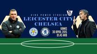 Leicester City vs Chelsea (Liputan6.com/Ari Wicaksono)