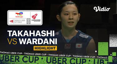 Berita Video, Highlights Piala Uber 2020, Putri Kusuma Wardani Telan Kekalahan Melawan Tunggal Putri Jepang
