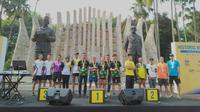 Para Pelari Lomba Lari Historic Ultra Relay Run 74Km (dok.Liputan6.com/Devita Nur Azizah)