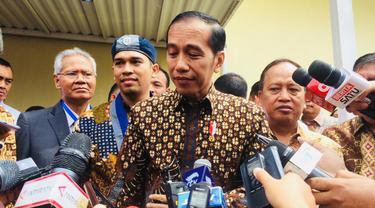 Presiden Jokowi membuka Kongres XXXVI Gerakan Mahasiswa Kristen Indonesia (GMKI).