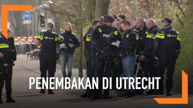 Kepolisian Belanda telah menangkap pria yang melakukan penembakan di Utrecth.