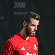 Kiper Manchester United asal Spanyol, David de Gea. (AFP/Oli Scarff)