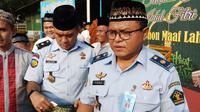 Kepala Lapas Klas I Cipinang, Slamet Prihantara. (Liputan6.com/Ady Anugrahadi)