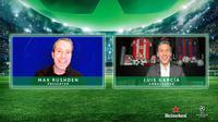 Luis Garcia pada acara Heineken & UEFA Champions League Hospitality at Home Virtual Experience, Selasa (16/02/2021) malam WIB. (Heineken Indonesia)