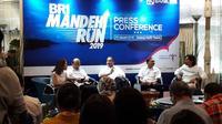 Menteri Pariwisata Arief Yahya saat acara BRI Mandeh Run (Liputan6.com/Komarudin)