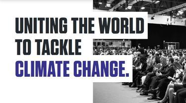 Inggris menjadi tuan rumah COP26 pada 2021.