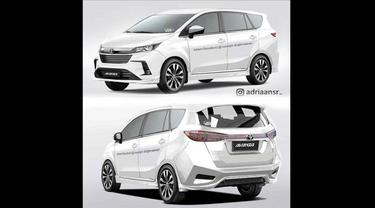 Desain Toyota Avanza peserta Avanzanation 2018