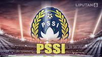 logo PSSI (Liputan6.com/Abdillah)