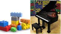Hasil karya LEGO yang mirip dengan aslinya. (Sumber: Boredpanda)