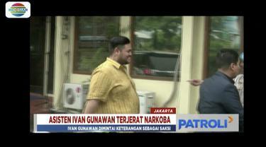 Ivan Gunawan penuhi panggilan penyidik Sat Narkoba Polres Metro Jakarta Barat terkait kasus kepemilikan narkoba sang asisten.