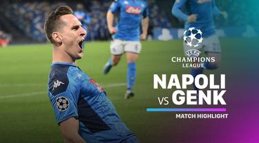 Berita Video Highlights Liga Champions, Napoli Vs Genk 4-0