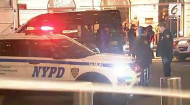 Kantor berita CNN di New York mendapat telepon ancaman bom.