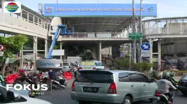 Untuk mengurangi kesemrawutan, Jalan Jatibaru yang sebelumnya sempat ditutup sejak beberapa Minggu terakhir telah dioperasikan kembali untuk lalu lintas kendaraan.