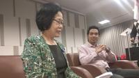 Manajemen RS National Hospital Surabaya sebelumnya menggelar jumpa pers perihal kasus pelecehan pasien perempuan oleh perawat. (Liputan6.com/Dian Kurniawan)