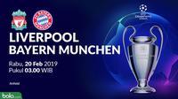 Liga Champions: Liverpool Vs Bayern Munchen (Bola.com/Adreanus Titus)